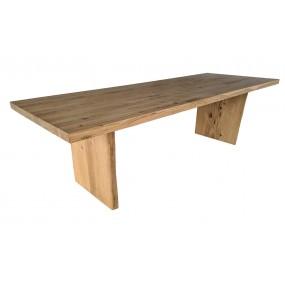 Lite drewno złożone z kilku lameli, krawędź prosta